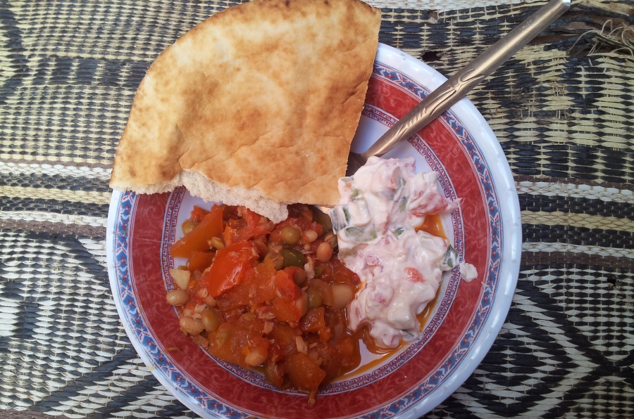 lunch gemaak door Salah