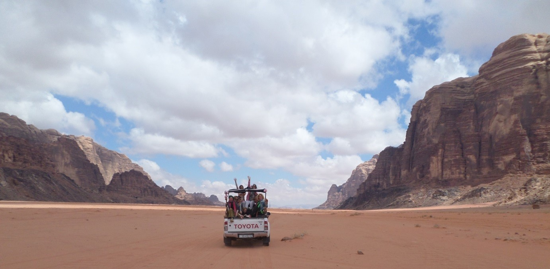 Woestijnverslag: Nu even niet!!