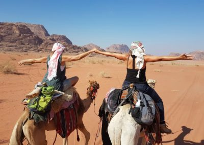 16 retraite wadi rum woestijn jordanie