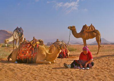 20 bezinningstocht woestijn jordanie