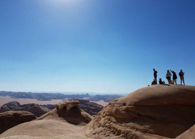 23 trekken door de woestijn stiltereis retraite jordanie