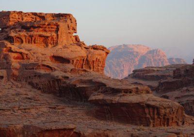 8 stiltereis wadi rum jordanie