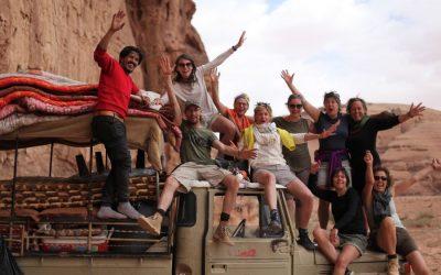 Woestijnreis van Anne Marie