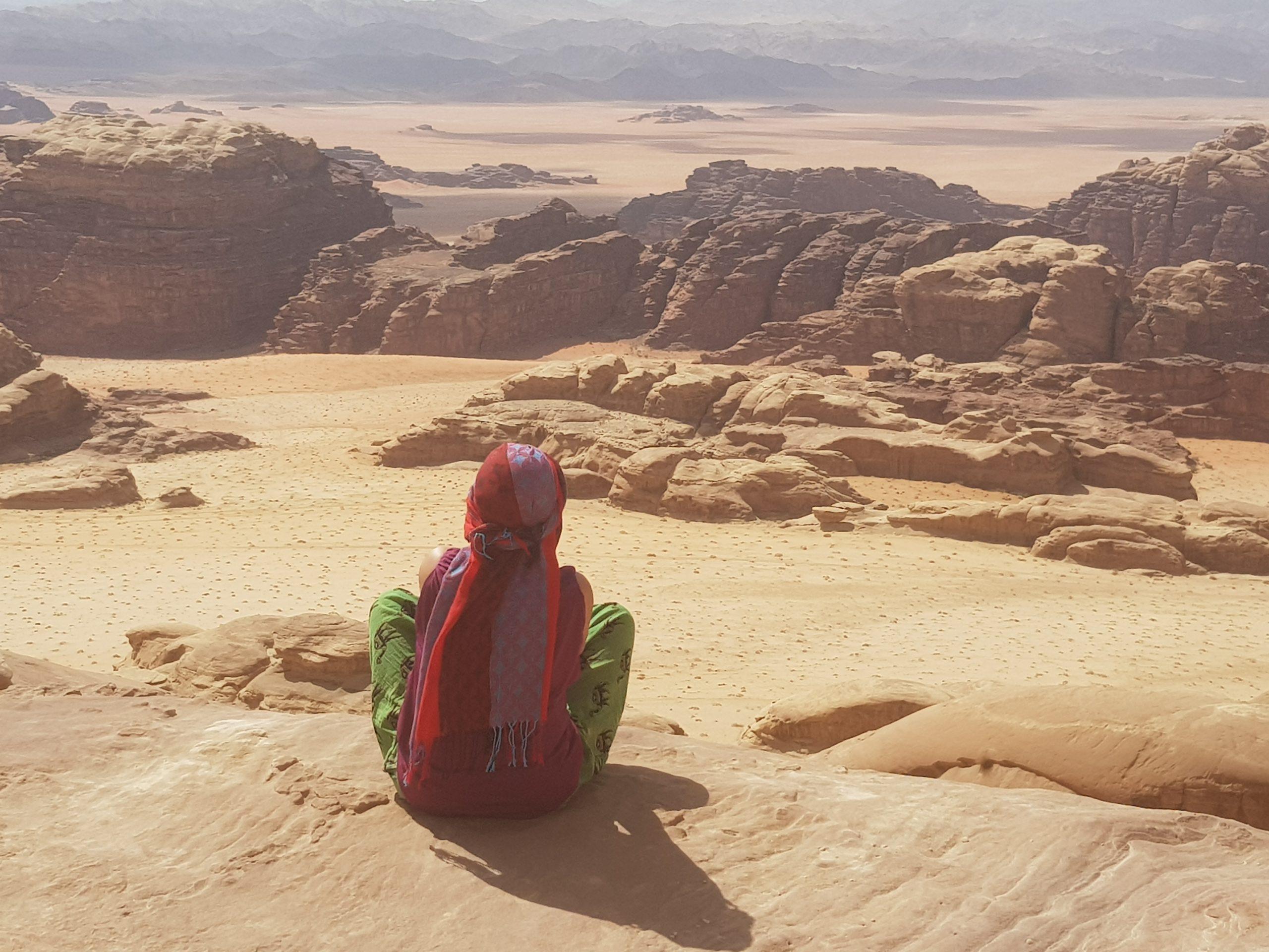 woestijnreis Jordanie retraite